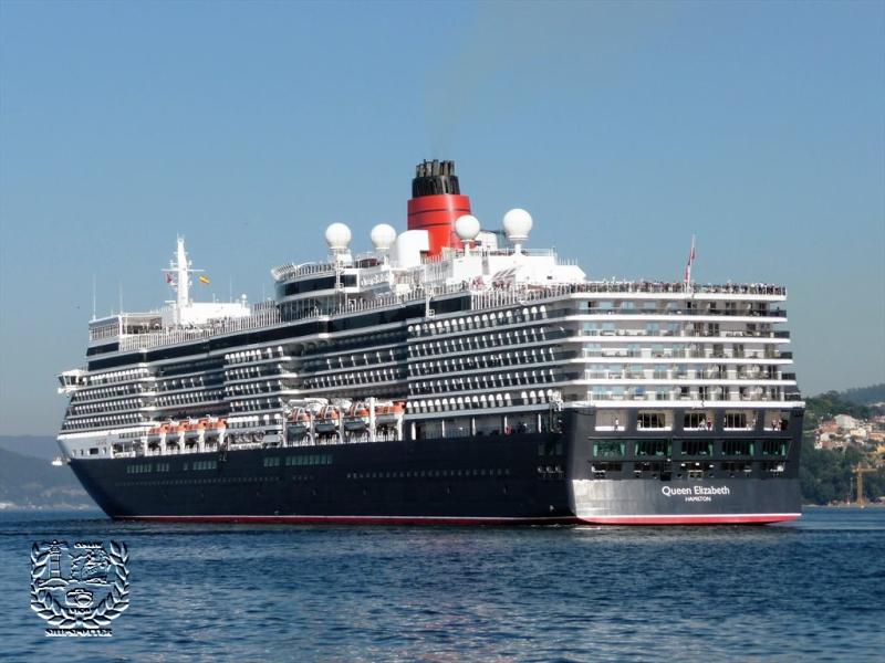 Crucero turístico MS Queen Elizabeth .   (2)
