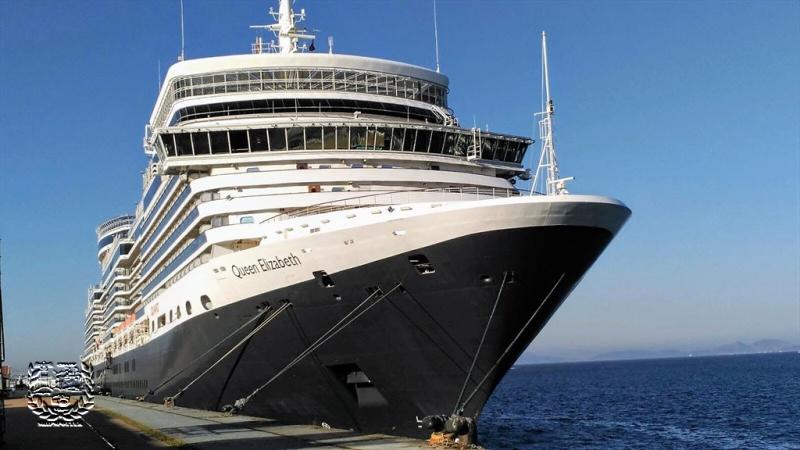 Crucero turístico MS Queen Elizabeth .   (1)