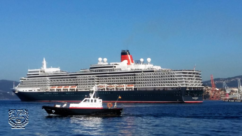 Crucero turístico MS Queen Elizabeth .   (4)