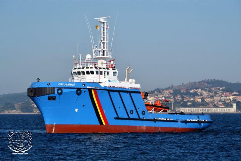 Nombre del buque Chiloango