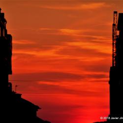 -Puesta de sol en la Ria de Vigo 2018 (2)