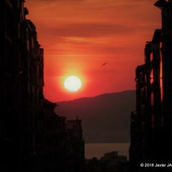 -Puesta de sol en la Ria de Vigo 2018 (1)